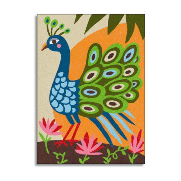 Djeco, Gekleurd zand paradijsvogels-5637