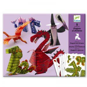 Djeco, Papierkunst draken