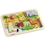 Puzzel chunky dierentuin, Janod