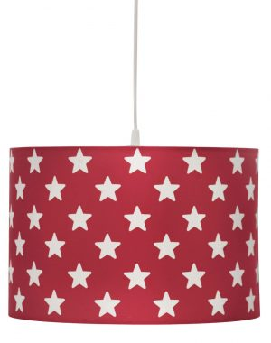 Kid's Concept, Hanglamp ster rood-0