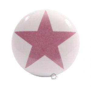La Finesse, Deurknop ster roze-0