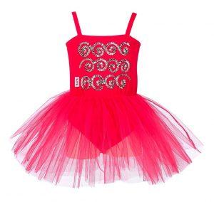 Rose & Romeo, Balletpakje Sheila fuchsia 3 - 4 jaar-0
