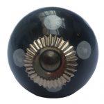 La Finesse, Deurknop zwart stip wit *-0