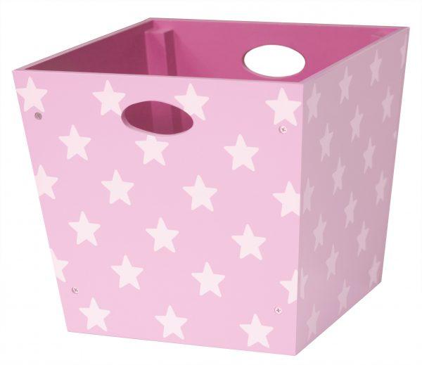 kids concept opbergbox ster roze