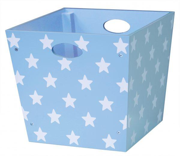 kids concept opbergbox ster blauw
