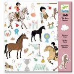 Stickers paarden, Djeco