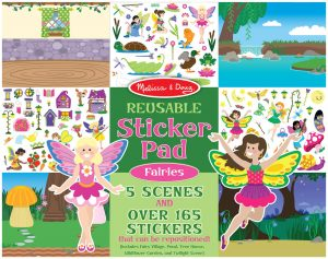 melissa & doug mega stickerboek feeën