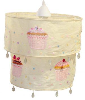 Hanglamp cupcakes pastel geel | Sass & Belle | Engeltjes & Draken