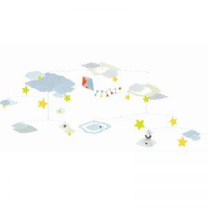 Djeco mobiel wolken en sterren