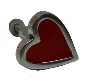 La Finesse, Deurknop rood hartvorm-0