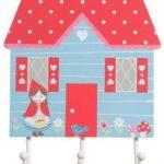 Engeltjes & Draken | Sass & Belle | Kapstok roodkapje huis