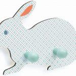 Engeltjes & Draken | Djeco | Kapstok konijn