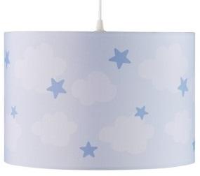 Hanglamp wolk en ster blauw, Kid's Concept