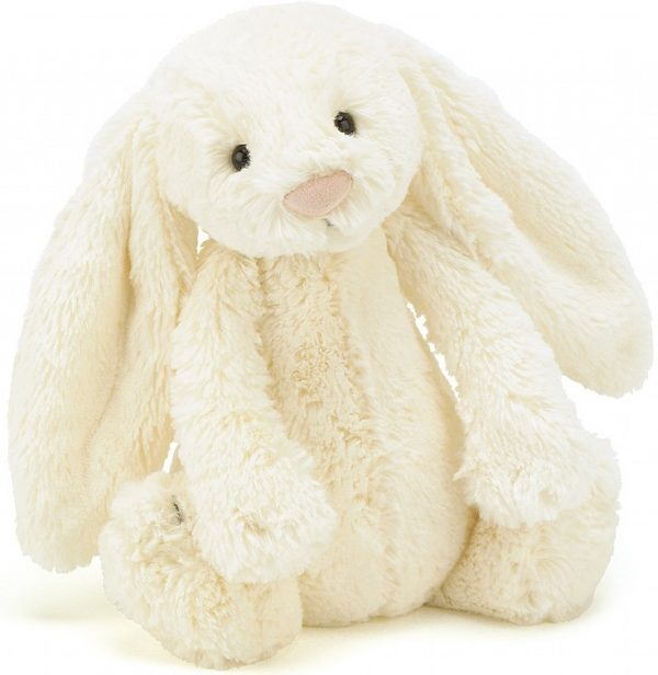 Knuffel konijn Bashful bunny cream 31 cm., Jellycat