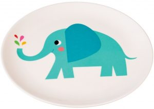 Melamine bord olifant, Rex London