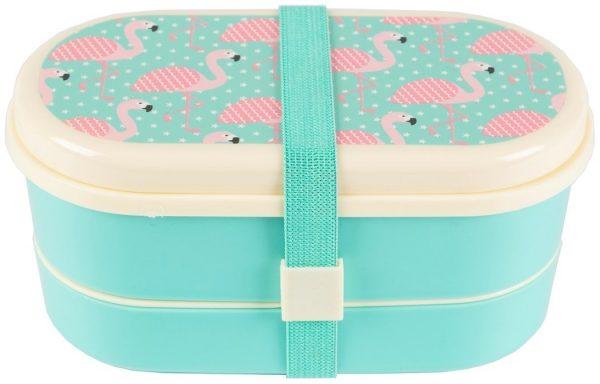 Bentobox Flamingo, Sass & Belle