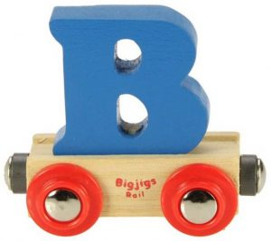Lettertrein B, Bigjigs