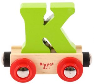 Lettertrein K, Bigjigs