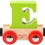 Bigjigs, Lettertrein E