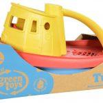 Sleepboot geel, Green Toys