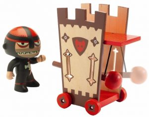 Ridder Darius & attack tower, Arty Toys, Djeco