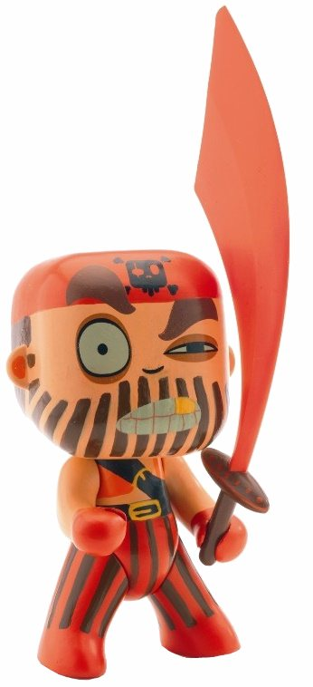 Captain Red, Arty Toys, Djeco