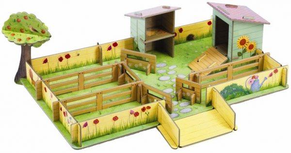 Speelgoed boerderij 3D, Djeco
