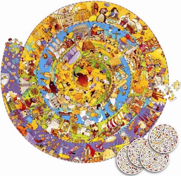 Puzzel gechiedenis observatie, Djeco