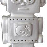 Sfeerlamp robot zilver, Heico