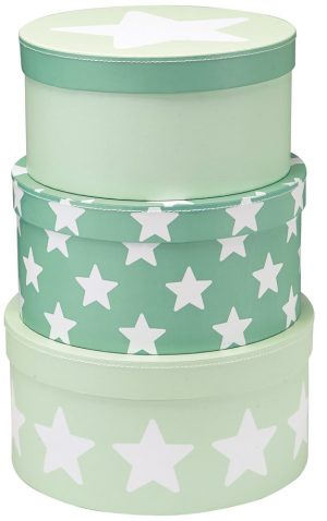 Opbergdozen star mint, Kid's Concept