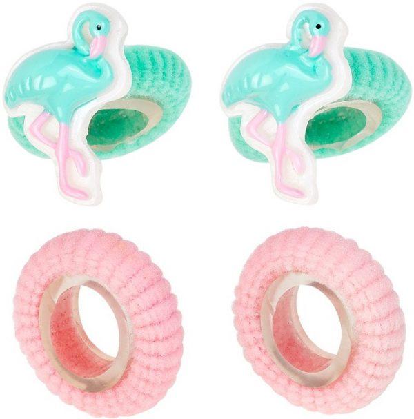 Haarelastiekjes flamingo mint, Souza for Kids