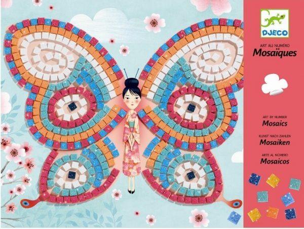 Mosaic vlinders, Djeco