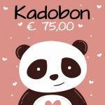 Kadobon € 75,00-0