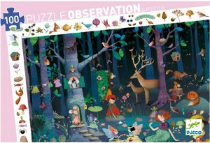 Puzzel Enchanted Forest, Djeco