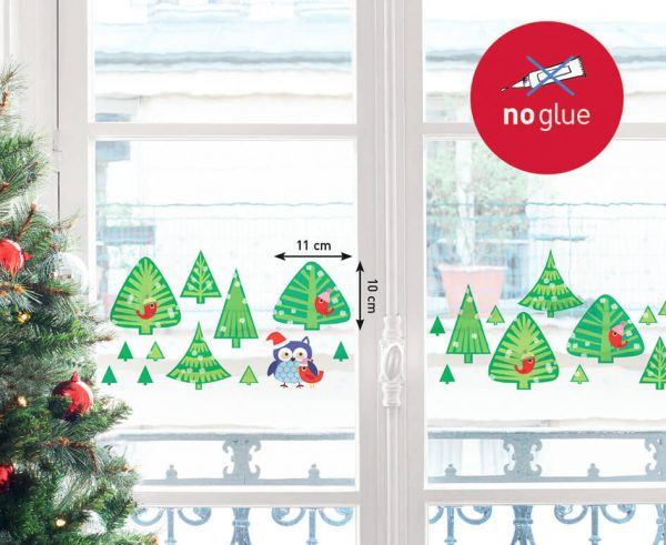 Raamstickers kerstbomen, Nouvelles Images