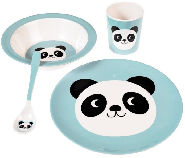 Rex London, Melamine schaal Miko the panda-29872