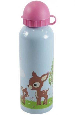 Drinkfles woodland, Bobble Art