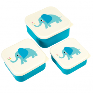 Snackdoosjes set olifant, Rex London
