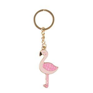 Sleutelhanger flamingo, Sass & Belle