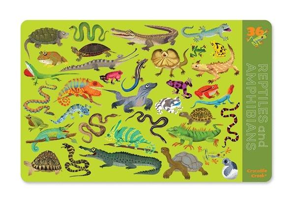 Placemat reptielen, Crocodile Creek