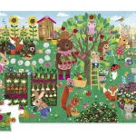 Vloerpuzzel bear & friends, Crocodile Creek