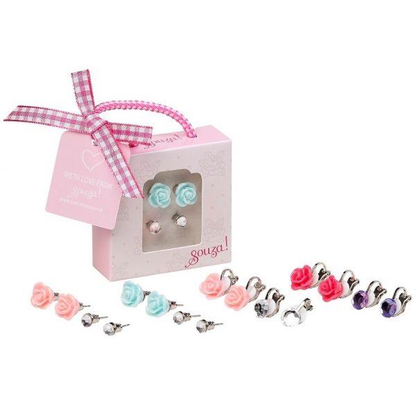 Giftbox oorbellen, Souza for Kids