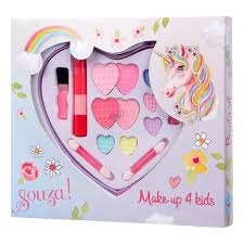 Make-up set hart eenhoorn, Souza for Kids
