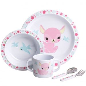 Melamine eetset hertje, A Little Lovely Company