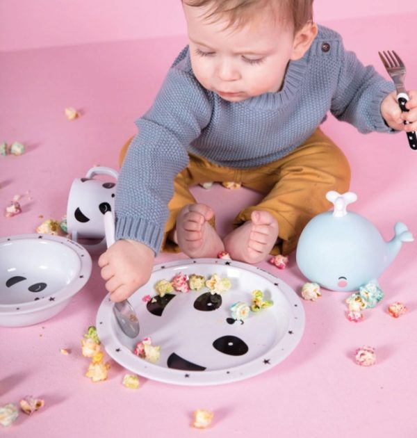 Melamine eetset panda, A Little Lovely Company