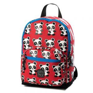 Rugzak panda rood, Pick & Pack