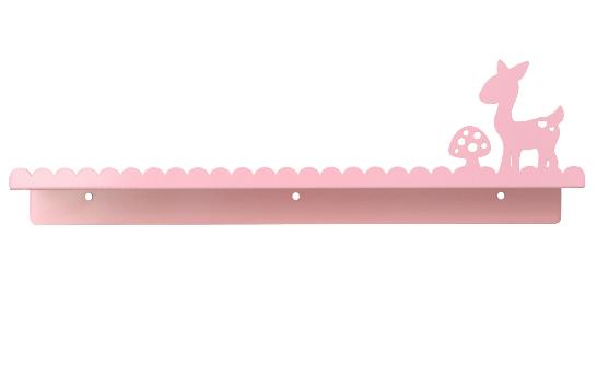 Wandplank woodland roze, Eina Design