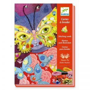 Borduurkaarten Elegant Carnaval, Djeco