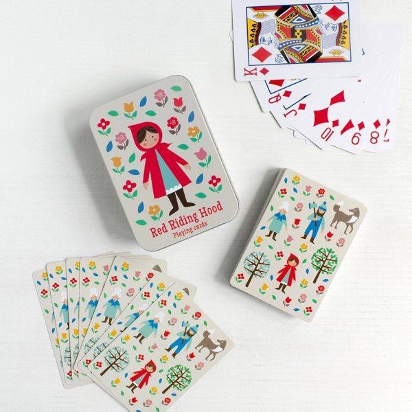 Speelkaarten roodkapje, Rex London