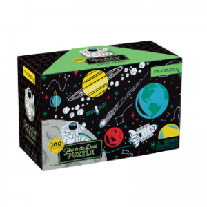 Glow in the dark puzzel space, Mudpuppy